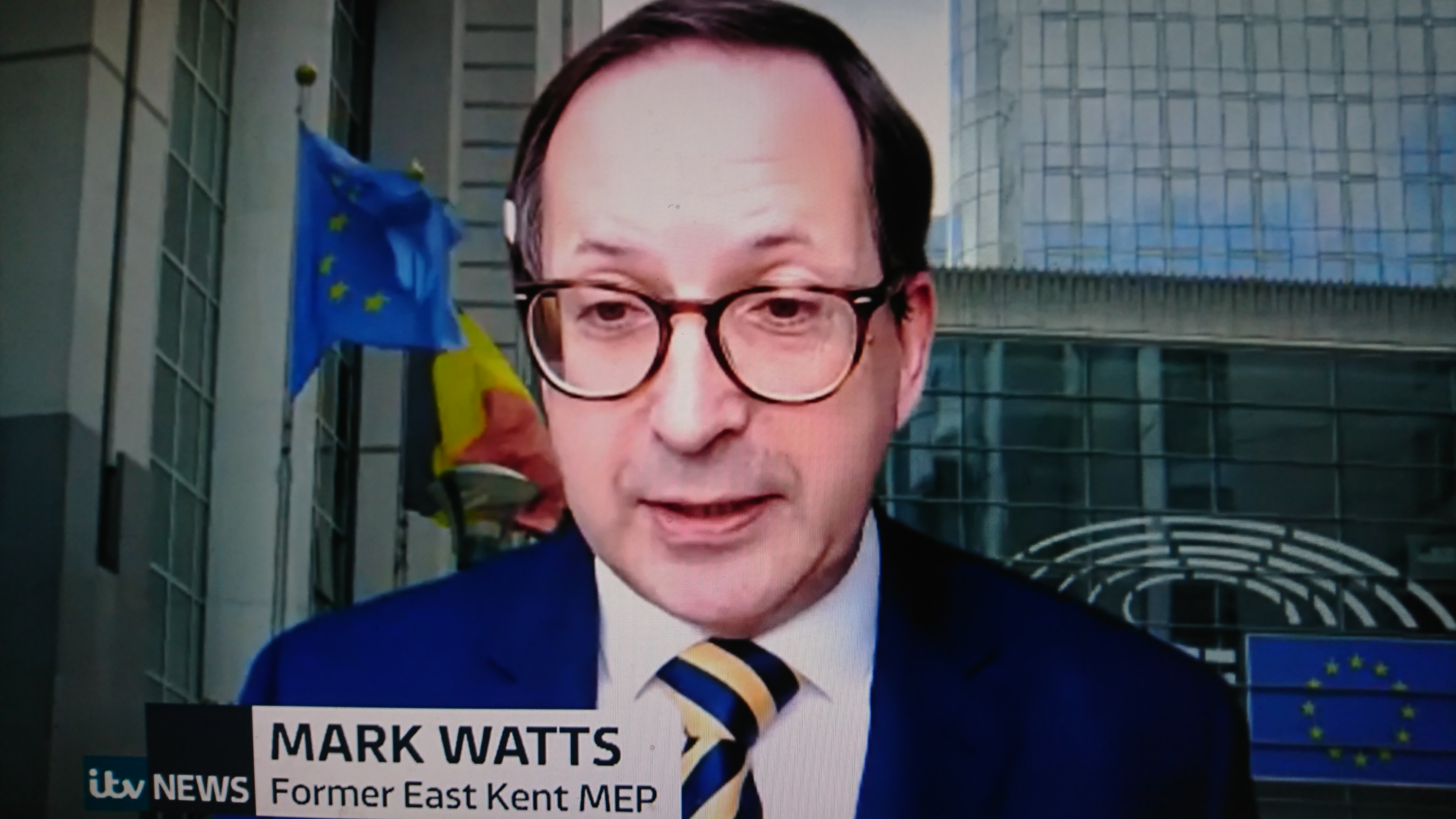 LP Brussels Director Mark Watts on ITV News Brexit Programme