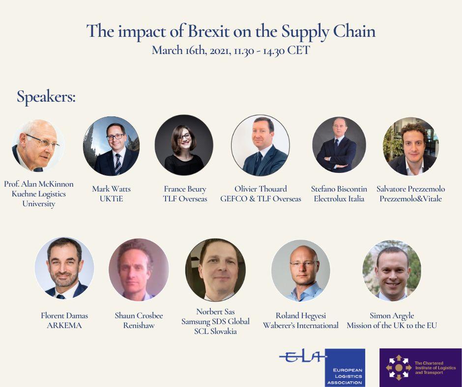 LP Brussels Director Top Speaker at European Logistics Event