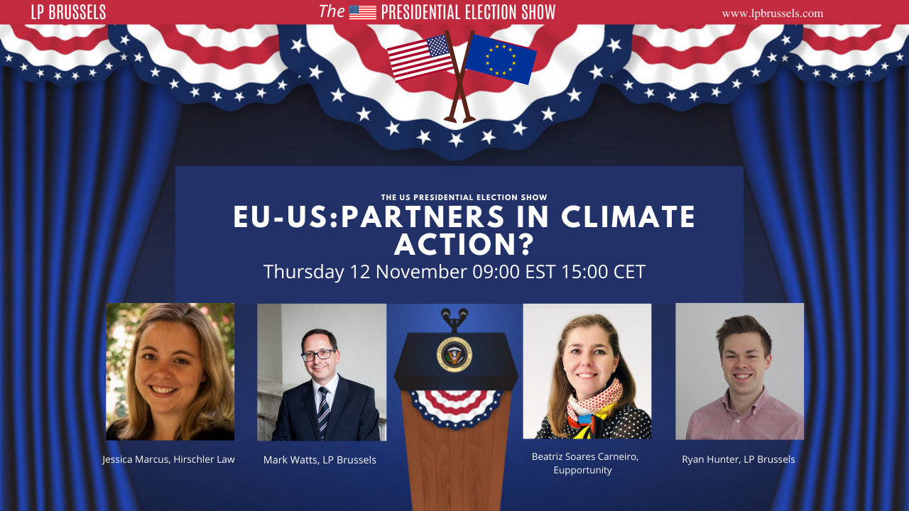 'EU-US Partners in Climate Action?' join our discussion with leading EU and US experts