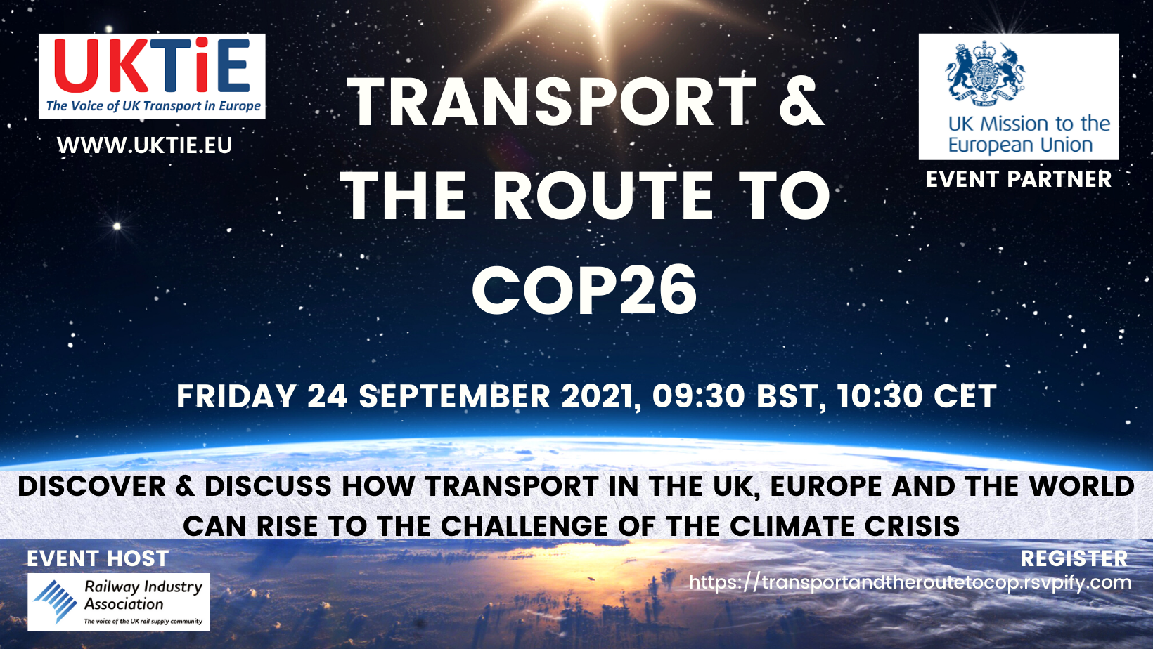 Exclusive briefing on COP26 organised by LP Brussels, UKTiE in partnership with UK Mission to EU