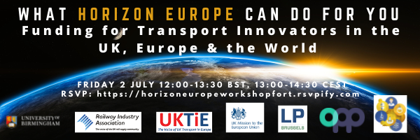 LP Brussels to co-host Horizon Europe Workshop with UKMis, University of Birmingham & UKTiE