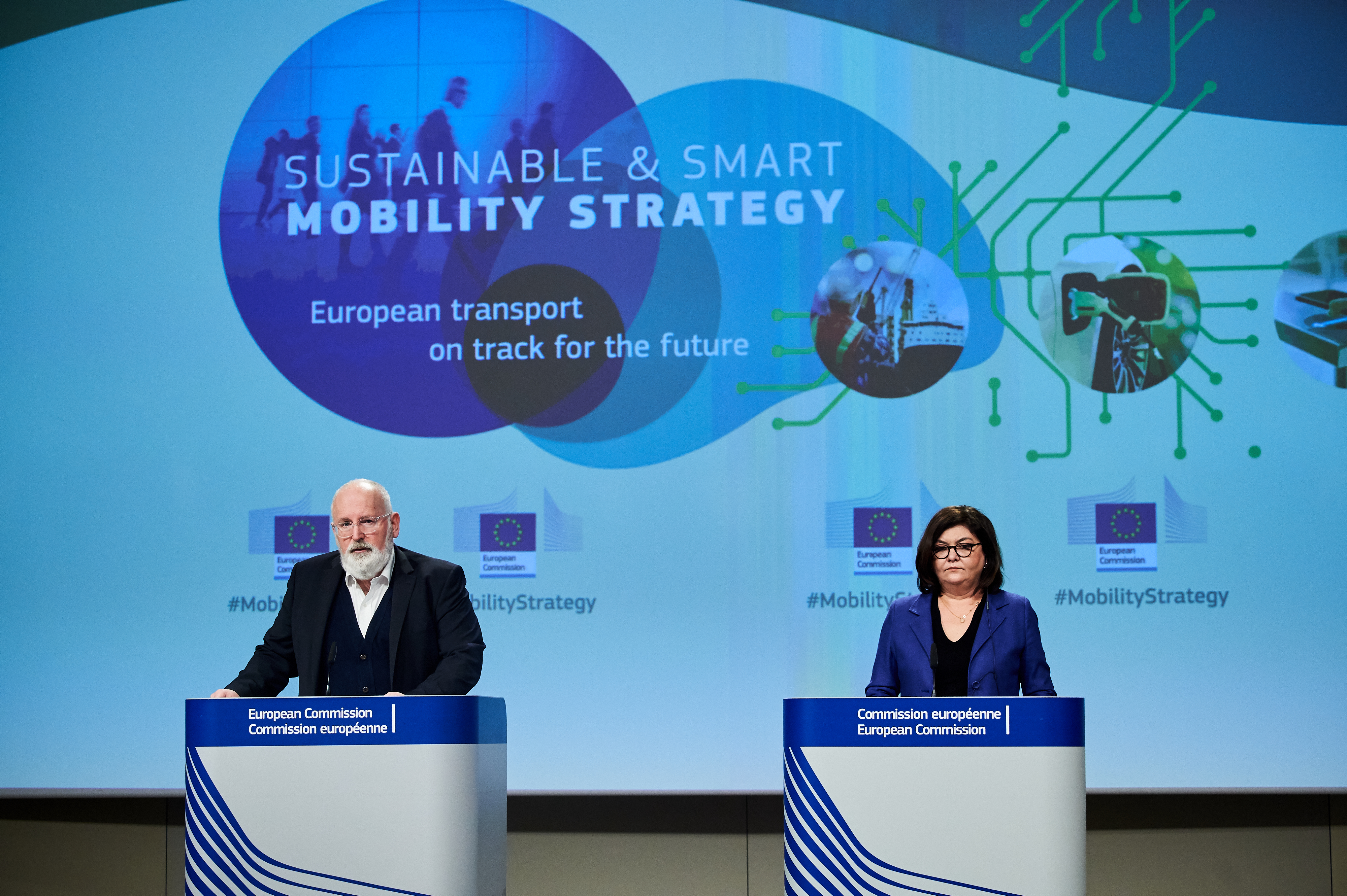 European Commission publishes Sustainable and Smart Mobility Strategy - 3 Key Takeaways