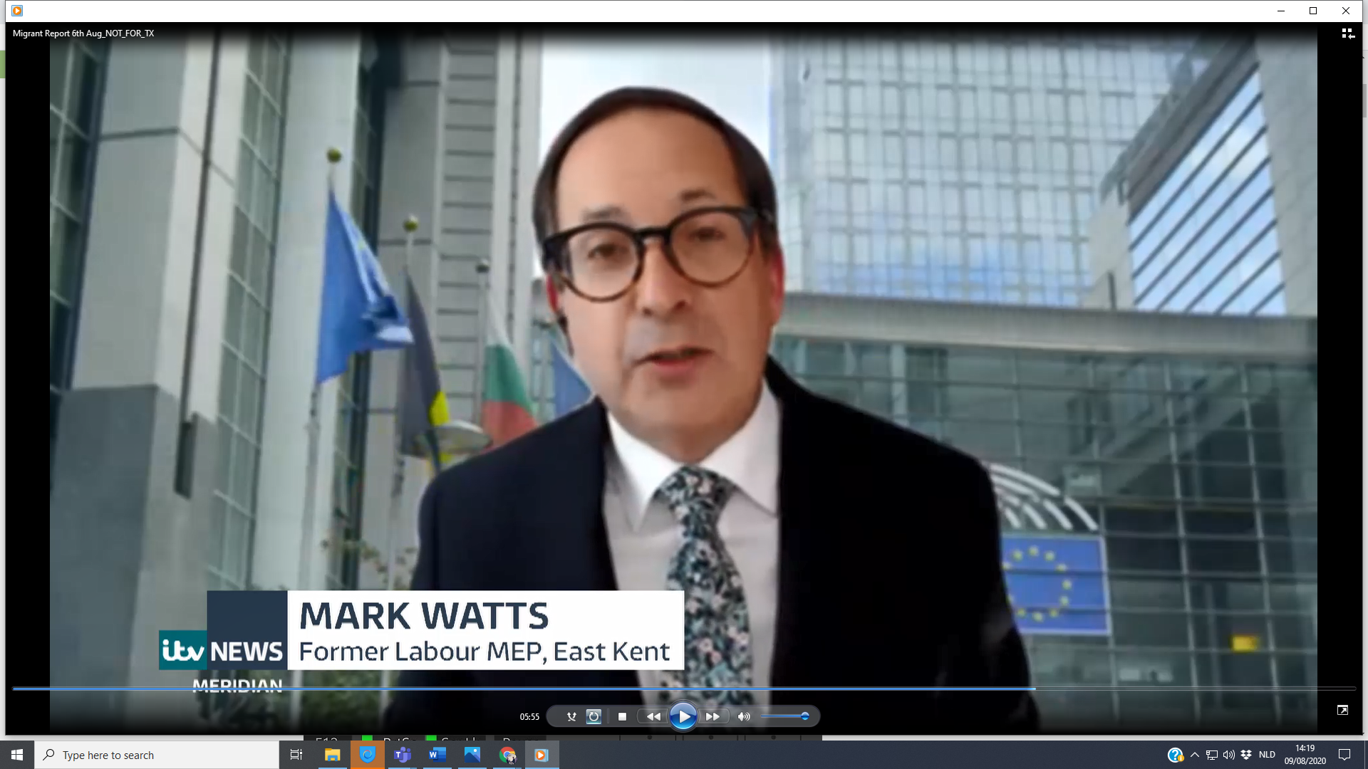 LP Brussels Director Mark Watts on ITV News: Channel Migration Crisis