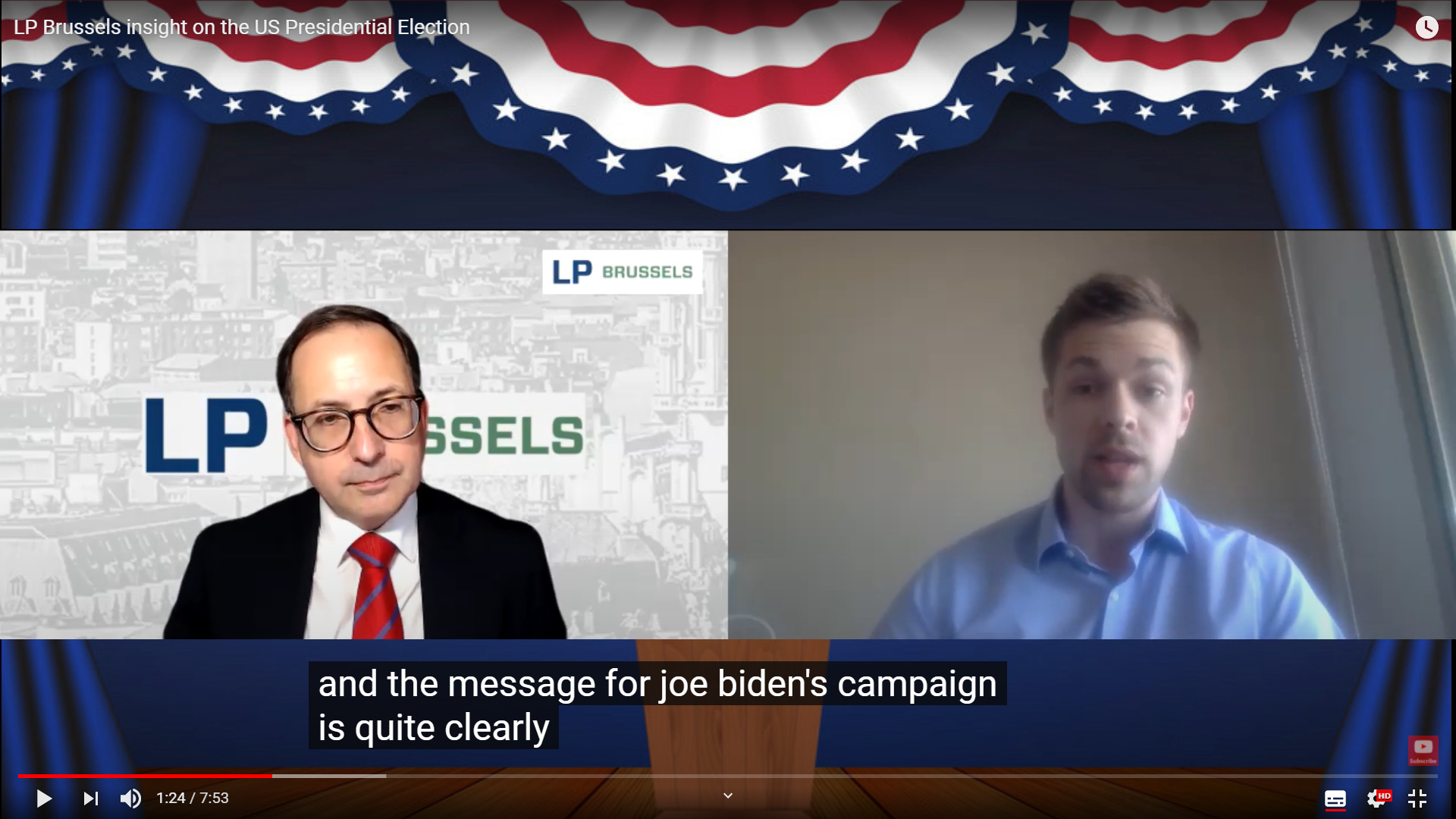 The PRESIDENTIAL ELECTION SHOW - follow our weekly analysis with special guests